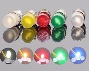 10x-12V-E5-LES-LED-Blue-Colour-Screw-Light-Bulbs-Ikea-Stranne-Lamp-Compatible