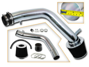 """Filter For 03-07 Accord LX//EX//SE 3.0L V6 3/"""" RED Cold Air Intake Induction Kit"""