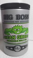 Mean Green Incredible Hold Boss Champkom 64 Oz Uni No Alcohol Molding Sha