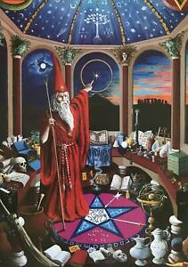 Firethorn-by-Robert-Wolfenden-Wizard-poster-22-x-33-5