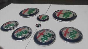 Kit-completo-loghi-Nuovi-Giulia-2016-Alfa-Romeo-MiTo-147-156-GT-CONSEGNA-48-ORE