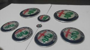 Kit Logo Alfa Romeo modello Giulia 2016 per 147 156 GT Mito