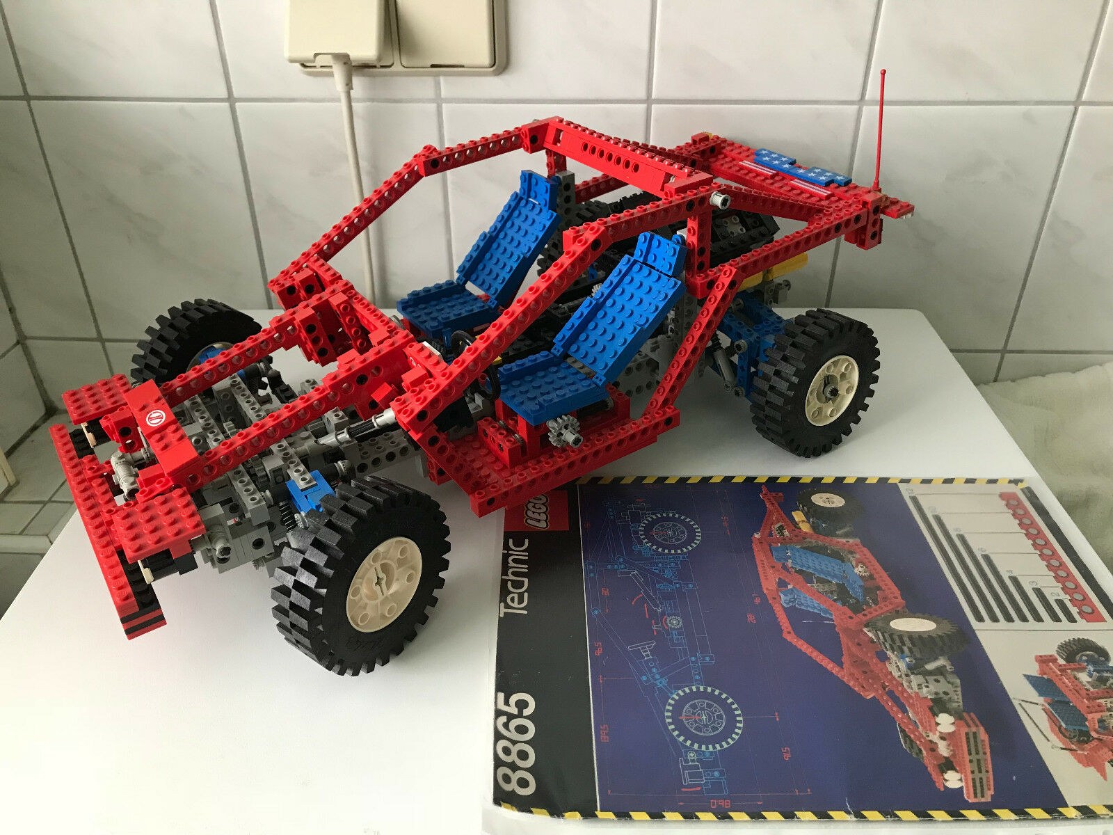 LEGO Technic PKW Chassis (8865)