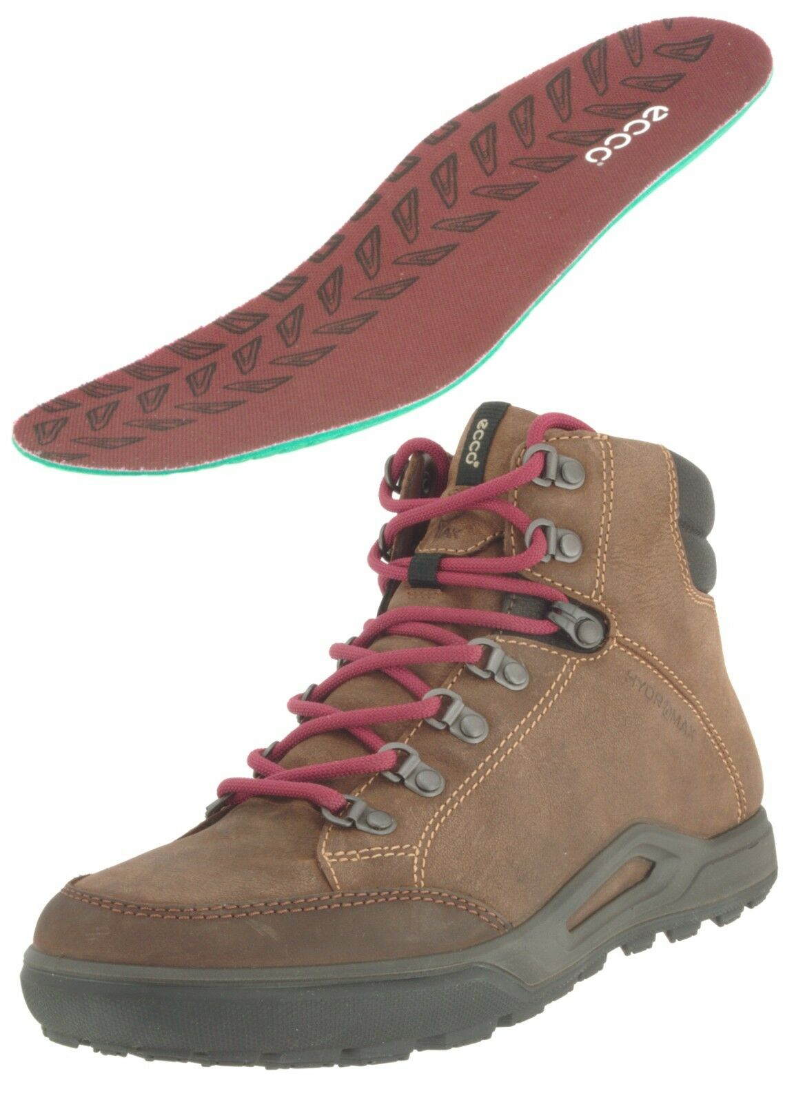 ECCO 833514 MEN'S LOCARNO LEATHER HIKING CASUAL  TRAIL MID BOOT US 7-7.5,  with cheap price to get top brand