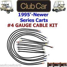 Club Car DS Series Golf Cart # 4 Gauge 600 volt Battery Cable Set