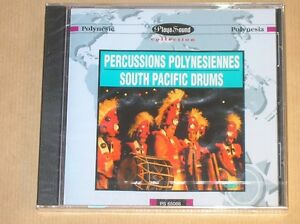 CD-PERCUSSIONS-POLYNESIENNES-SOUTH-PACIFIC-DRUMS-NEUF-SOUS-CELLO