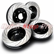 BMW010S X5 4.6is 4.8is 02-06 Performance Brake Rotor Cross Drill + Curve Slots
