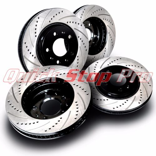 BMW010S X5 4.6is 4.8is 02-06 Performance Brake Rotor Cross Drill Curve Slots