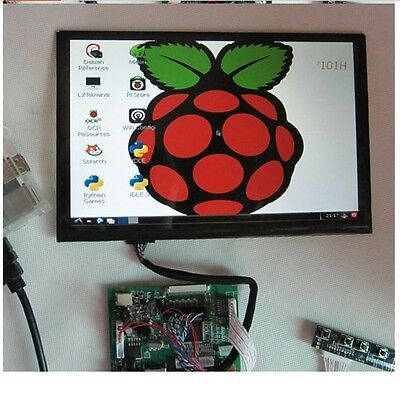 "10.1"" IPS LCD Display ModuleHDMI+VGA+2AV Driver Board for Raspberry Pi"