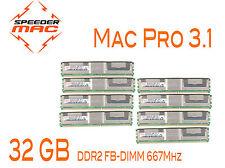  Kit Mémoire 32 GB (8x 4GB) DDR2  667MHz - FBDIMM pour Mac Pro 3.1 Early 2008