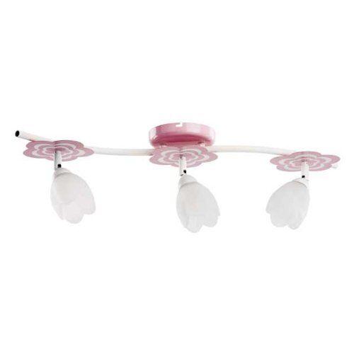 ALFA MARIA Pink//Rosa 3 Deckenleuchte Deckenlampe Kinderzimmerlampe