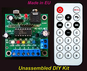Details About Led Chaser Sequencer Sound Activated Music Light Show Diy Kit