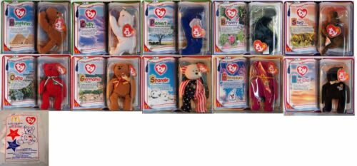 #32 TY Teenie Beanie Babies Mc Donald`s Happy Meal AUSSUCHEN :  D / USA