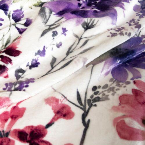 Luxury Warm Soft Plush Velvet Duvet Quilt Cover With Pillowcase Cover Bed Set