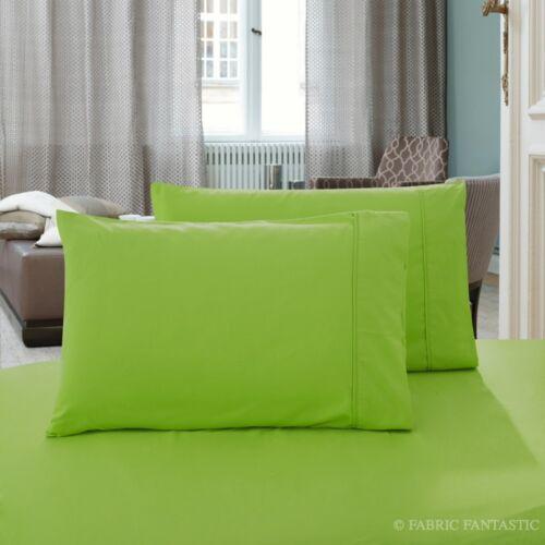KING Pillow Case Pair of 1000TC QUEEN Pillow Cases STANDARD Size Pillowcases