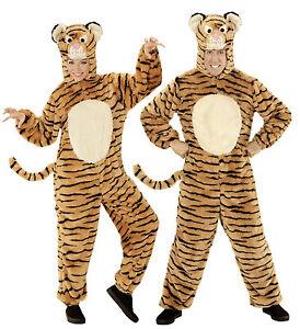 Ant 97139 Unisex Kostum Tiger Soft Plusch Katze Fasching Karneval