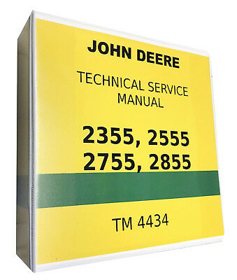 2755 John Deere Technical Service Shop Repair Manual | eBay John Deere Wiring Diagram on