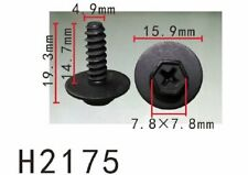 FENDER 17mm Long Self Tapping Screw Fit NISSAN 5PCS AUTOBAHN88 BUMPER TRUNK