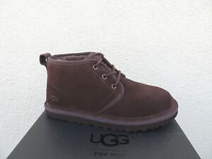 8b489260005 Details about UGG NEUMEL ESPRESSO SUEDE/ SHEEPSKIN CHUKKA ANKLE BOOTS, US  10/ EUR 43 ~ NEW