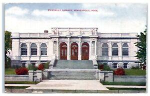 Early-1900s-Pillsbury-Library-Minneapolis-MN-Postcard
