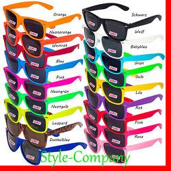 NEU ! Sonnenbrille 80er Nerd Style Piloten Brille Retro Atzenbrille Brillen