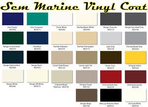 Automotive Paint Colors >> SEM Marine Material Dye, SEM Marine Vinyl Coat, Changes or Renews Marine Vinyl | eBay