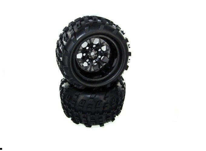 rossocat Racing 10mm 2 Piece ruedas  completare  Rampage xt part   07065-10  qualità di prima classe