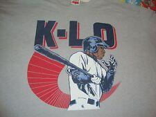 KENNY LOFTON K-LO Cleveland Indians Caricature MLB Homage T Shirt Men's Size 3XL