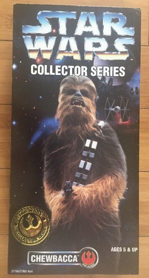 Star wars - serie  chewbacca  12   1996 kenner mib hellblau einfügen