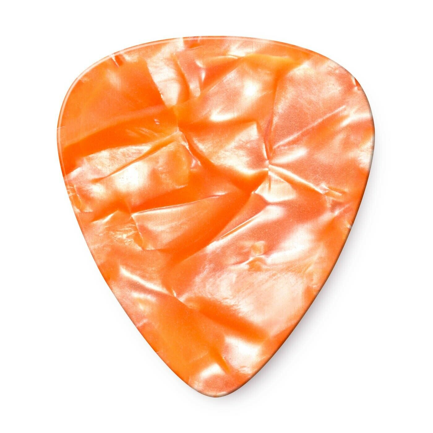 Thin Orange Pearloid Jim Dunlop 483P08TH Genuine Celluloid 12 Pack