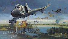 Dragon Slayers by Robert Bailey Vietnam  F-4 Phantoms A-4 Skyhawks  6 signers