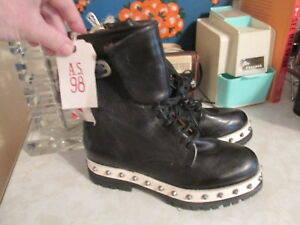new product 778ca 6cd20 Details about A.S.98 Damen Blade biker boots NWOB size EU 36 studded ,  Black msrp $355