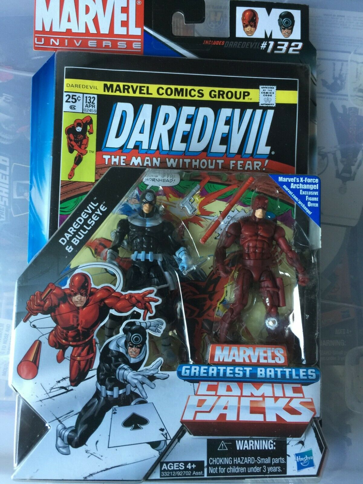 Darotevil vs Bullseye Comic Packs Marvel Universe Infinite Action Figures