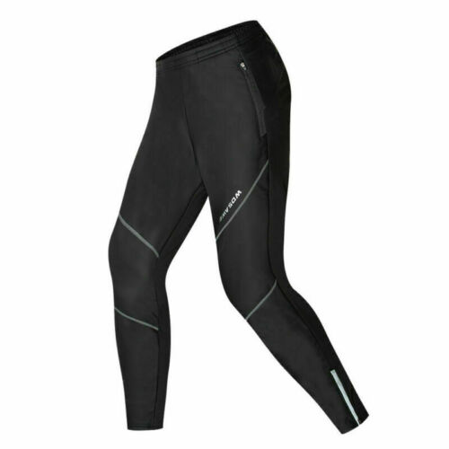 Men/'s Winter Sports Trousers Fleece Thermal Long Pants Windproof Cycling Tights