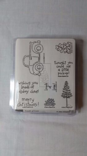CHOICE OF STAMPIN UP WOOD MOUNTED RUBBER STAMP SETS CHRISTMAS VARIOUS SIZES SETS
