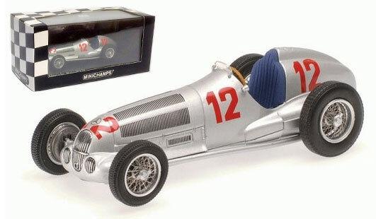 Minichamps Mercedes-Benz W125 Alemán GP 1937-Rudolf Caracciola 1 43 Escala
