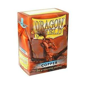 Dragon-Shield-Copper-Card-Sleeve-Protectors-100-Pack-Free-Shipping