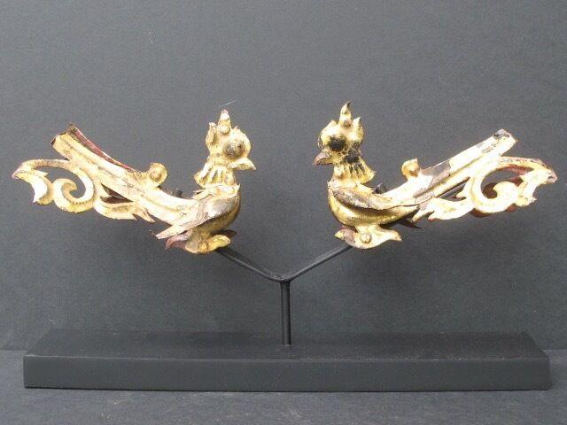 Elements de Temple, Oiseaux dorés de BIRMANIE