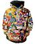 Men/'s//women's Cartoon Totally 90/'s 3D Print Sweatshirt Hoodies Tops Pullover TN9