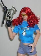 1/6th scale female blue T shirt/cy girls