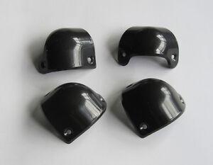 4x-Plastic-Black-Guitar-AMP-Amplifier-Cabinet-Corner-Front-for-Marshall
