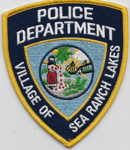 Sea Ranch Lakes Police State Florida FL Colorful