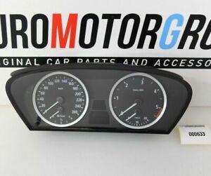 BMW-E60-E61-Compteur-de-Vitesse-Groupe-Instrument-Km-H-Diesel-6958600-6945633