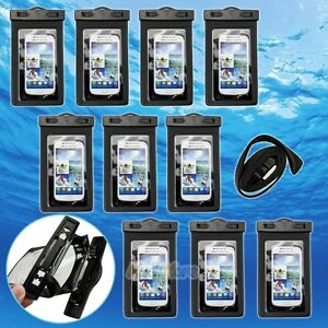 10 x Waterproof Underwater Pouch Dry Bag Case For iPhone Cell Phone Touchscreen