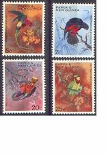 Papua New Guinea 1967 PARROTS(BIRDS) (4) Unhinged Mint SG 121-4