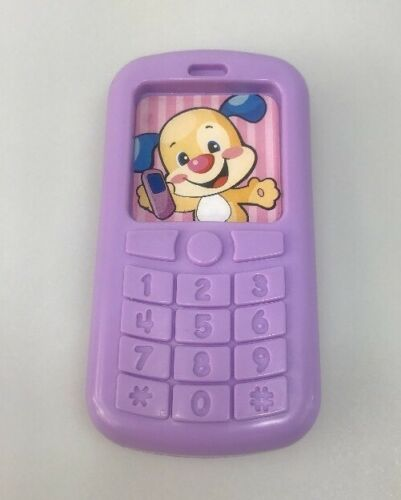 fisher price laugh and learn replacement phone lilac purple ratlle mobile