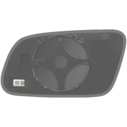 Rechts Beifahrerseite Spiegelglas Beheizbar für Audi A4 B5 1999-2001
