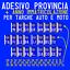 ADESIVI-2ANT-2POST-TARGA-PROVINCIA-ANNO-X-RIPRISTINO-TARGHE-AUTO-E-MO miniatura 1