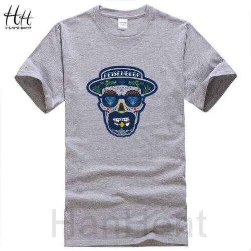 Heisenberg Men T shirts Breaking Bad O-neck Sportsman Funny Tshirt