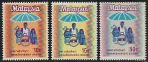 49-MALAYSIA-1973-SOCSO-SET-3V-FRESH-MNH-CAT-RM-9